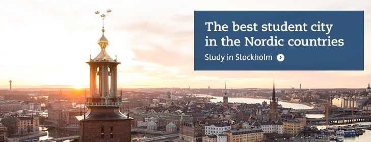 Study at Stockholm university Department of Education